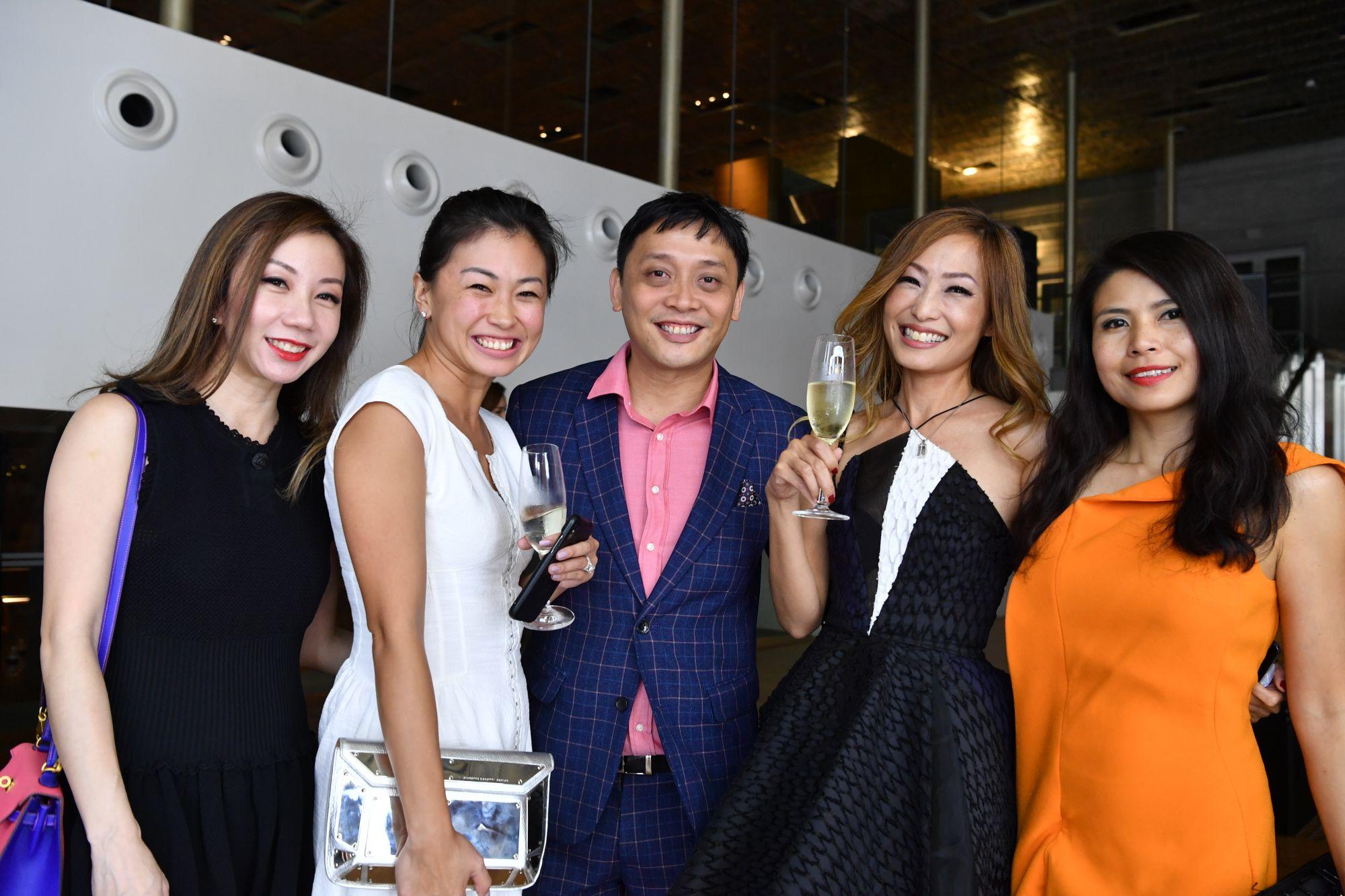 Alicia Loke, Jasmine Tan, Chan Kwai Sum, Tan Min-Li, Marilyn Lum