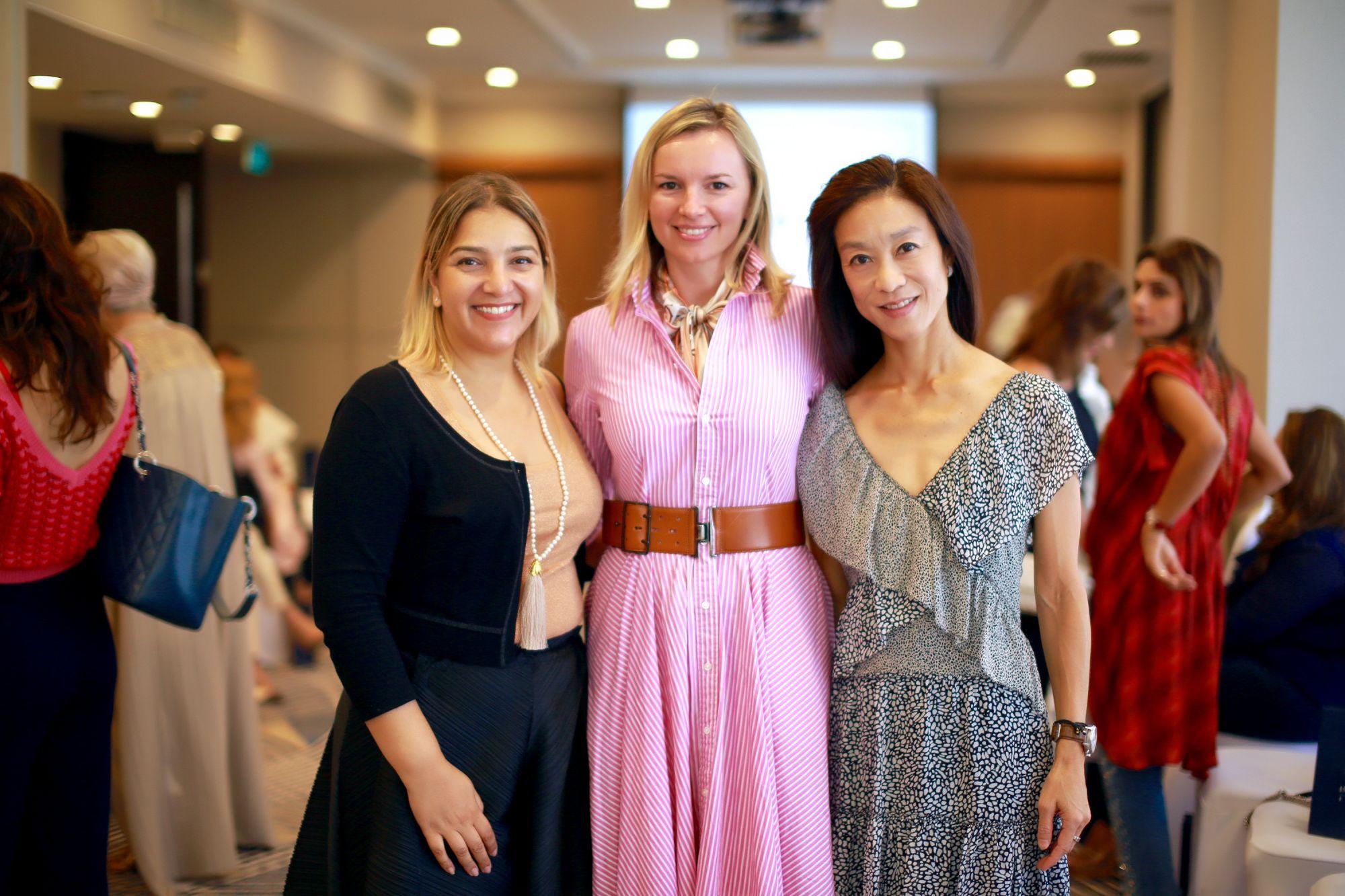 Anita Chugtai, Valentina Doncevic, Rebecca Woo