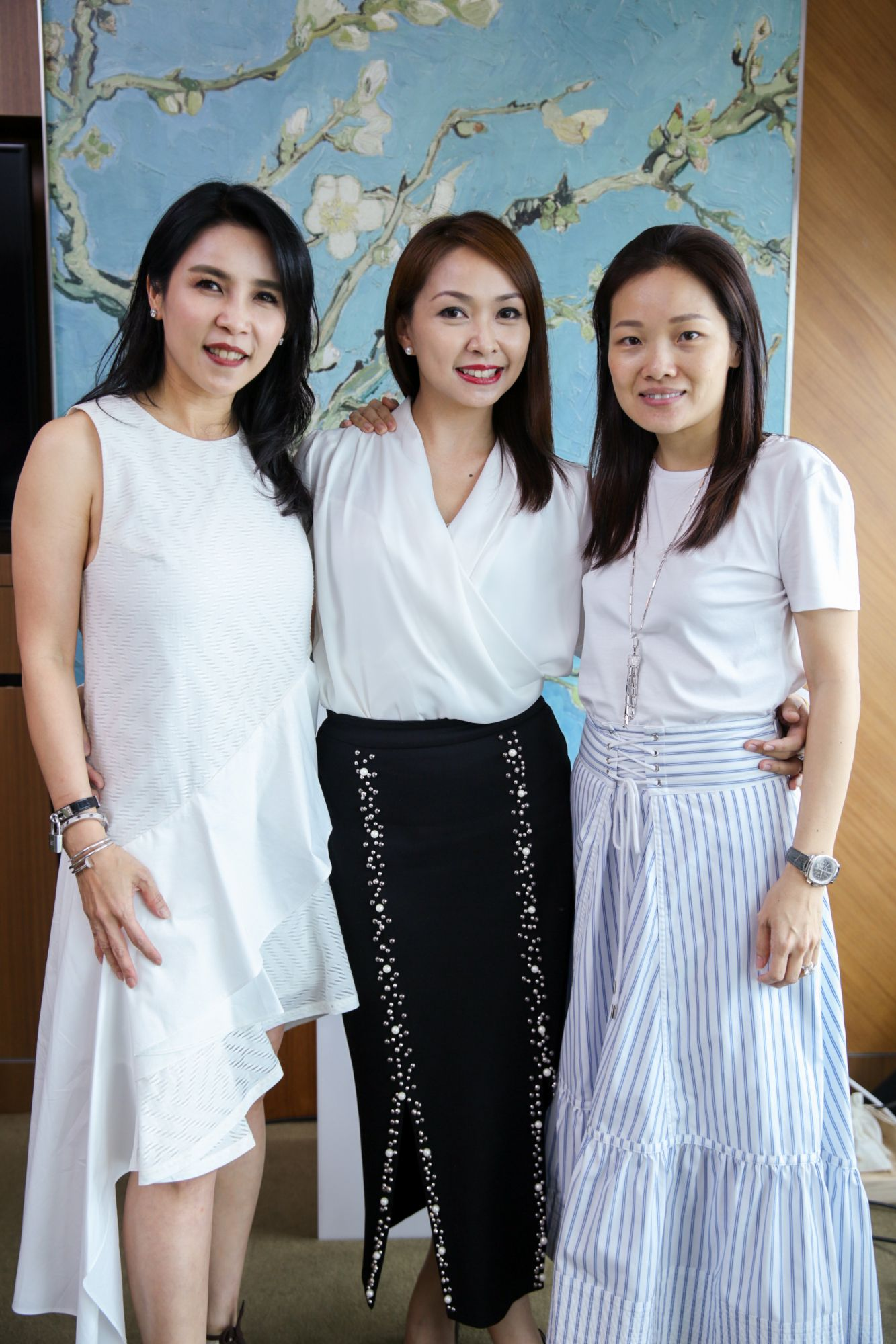 Fanty Soenardy, Kelly Keak, Evelyn Yeoh