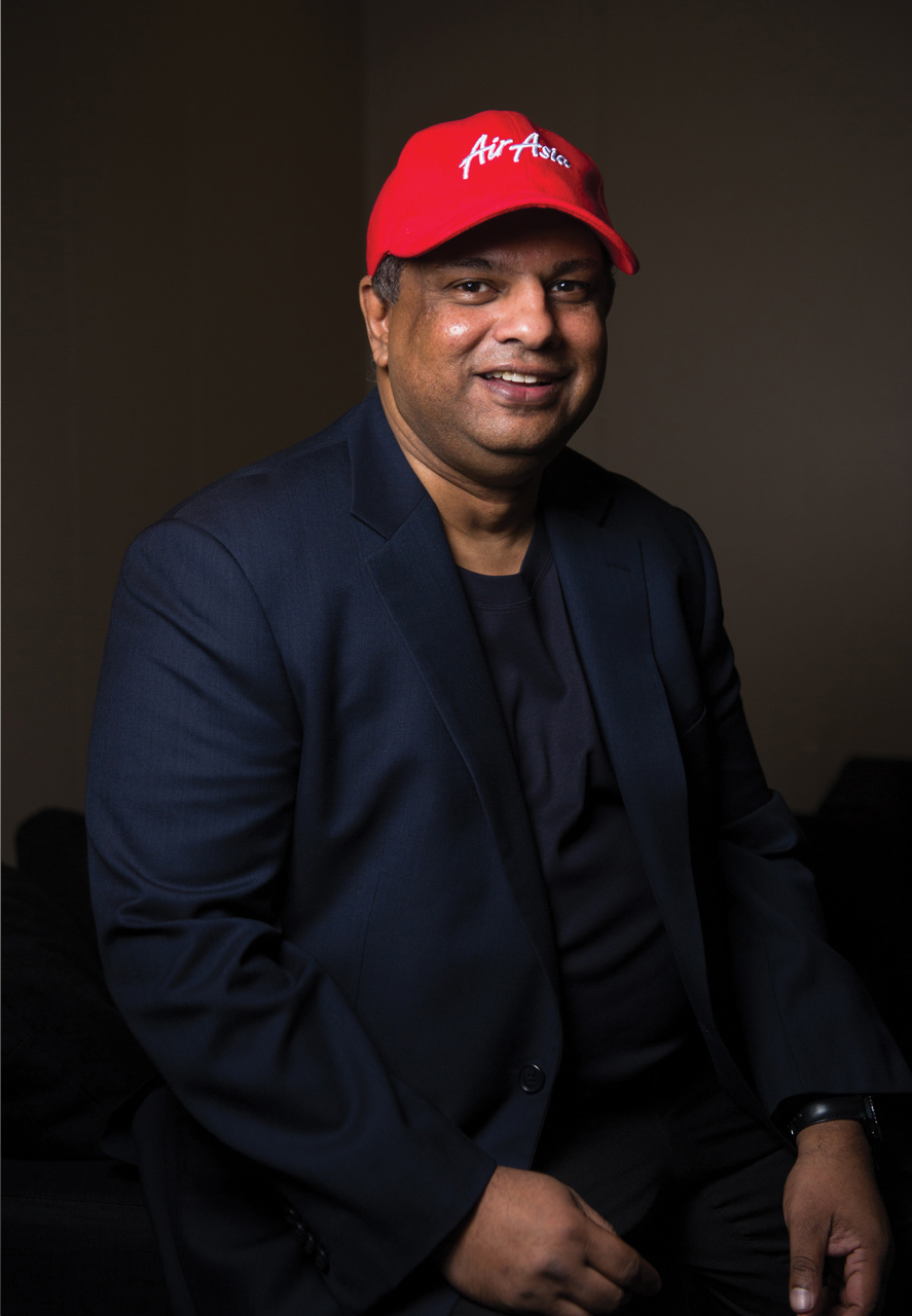 Tony Fernandes; Image: Courtesy of Jinggo Montenejo and Dookie Ducay