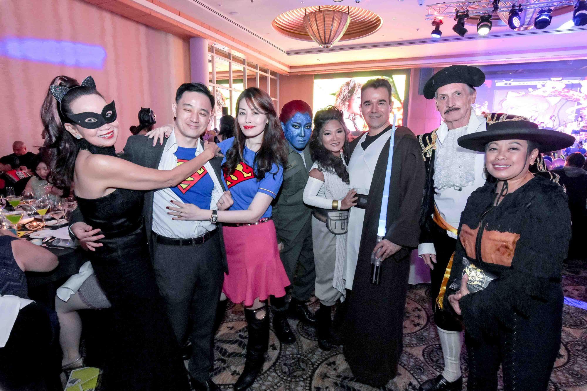 Celeste Basapa, Benjamin Kim, Serene Tan, Desmond Lim, Audrey Mico, Oscar Mico