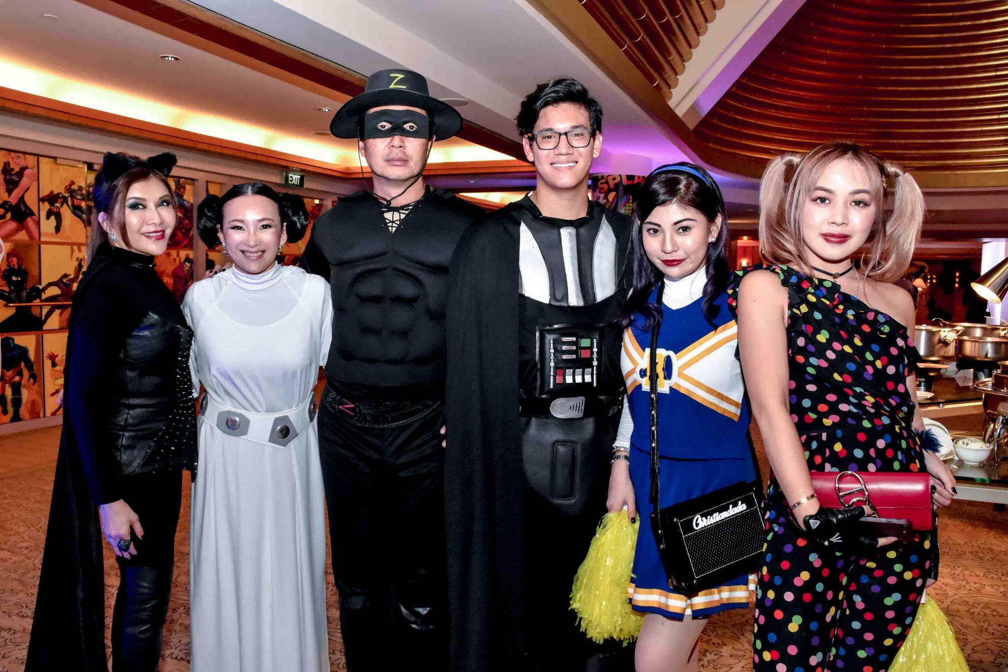 Belinda Chua, Caroline Low-Heah, Heah Sieu Min, Sabrina Ho, Chloe Ng