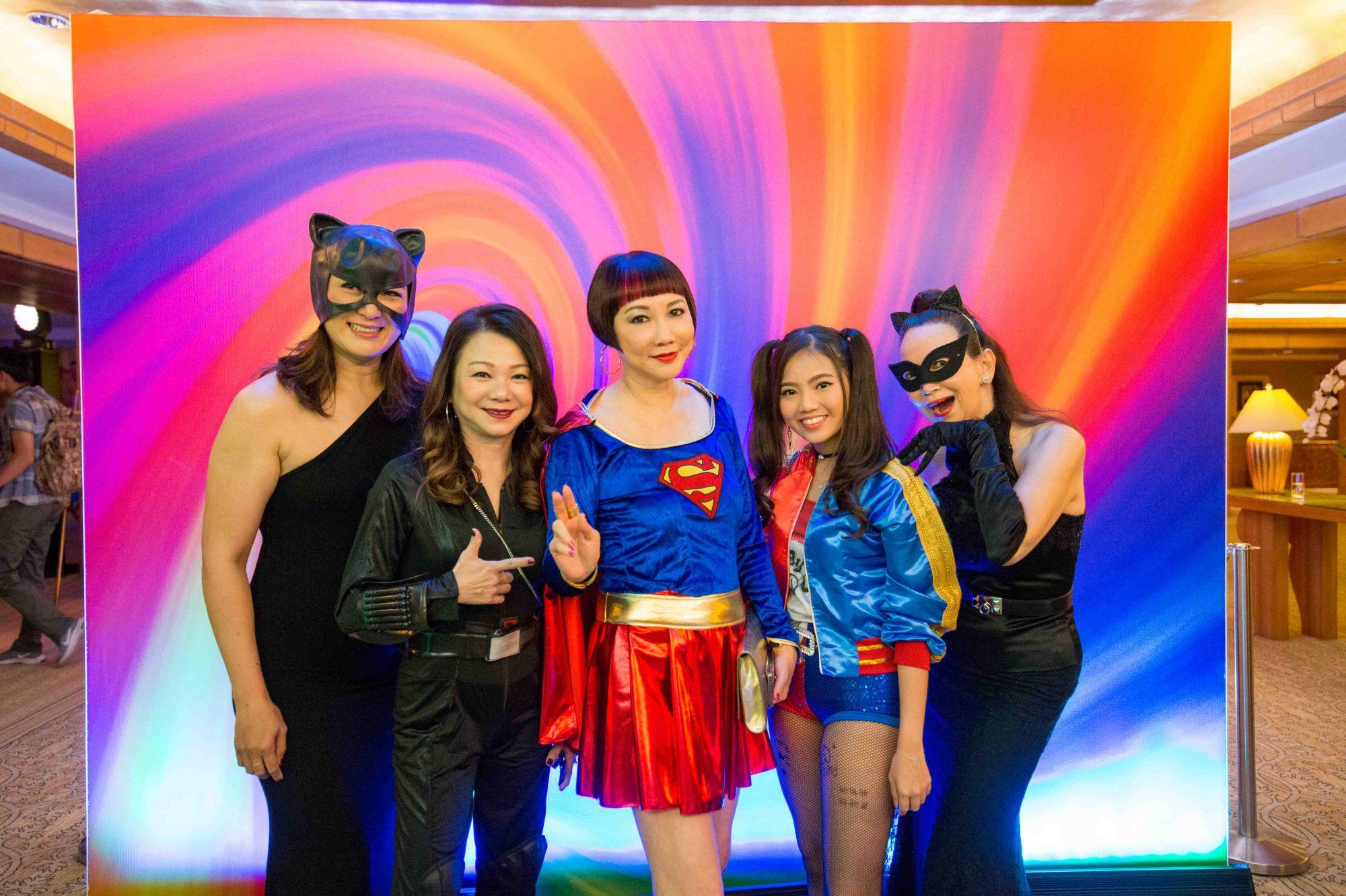 Nana Au-Chua, Angela Ng, Frances Low, Vanessa Ng, Celeste Basapa