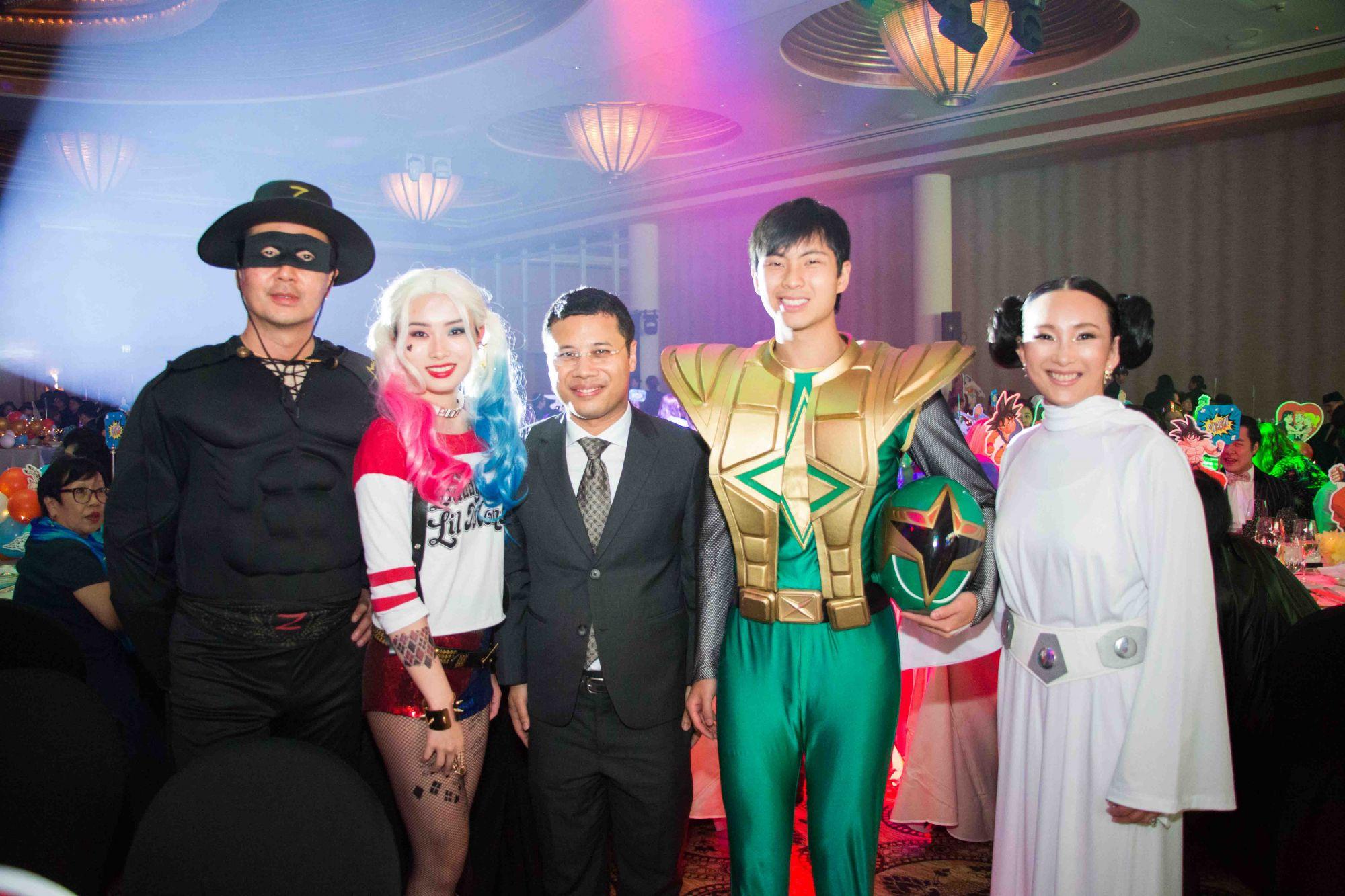 Heah Sieu Min, Elizabeth Heah, Desmond Lee, Nicholas Heah, Caroline Low-Heah