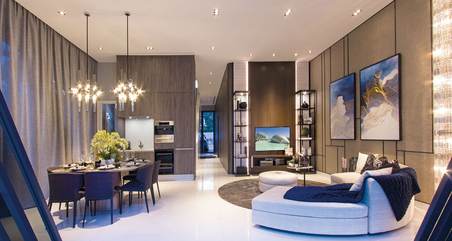 Home Tour A Villa With Interiors Inspired By Zaha Hadid Tatler Singapore