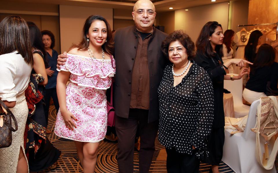 Dimple Aswani, Tarun Tahiliani, Asha Hiranandani