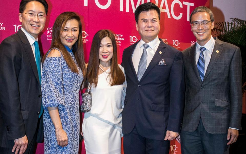 Edmund Lin, Trina Liang-Lin, Susan Peh, Adrian Peh, Laurence Lien