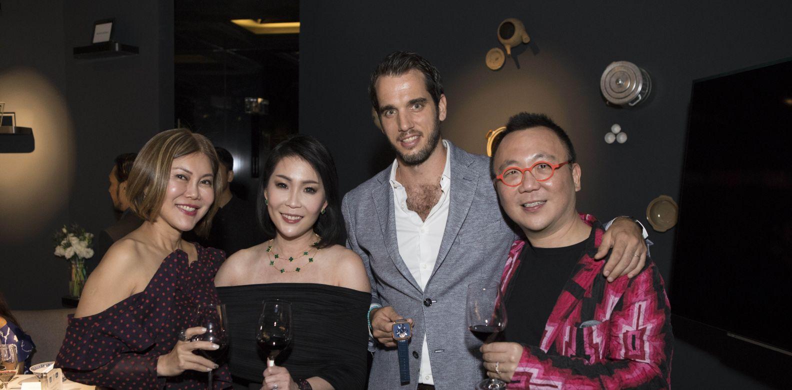 Sharon Lim, Elaine Lim Chan, Bertrand Meylan, Chan Kok Weng