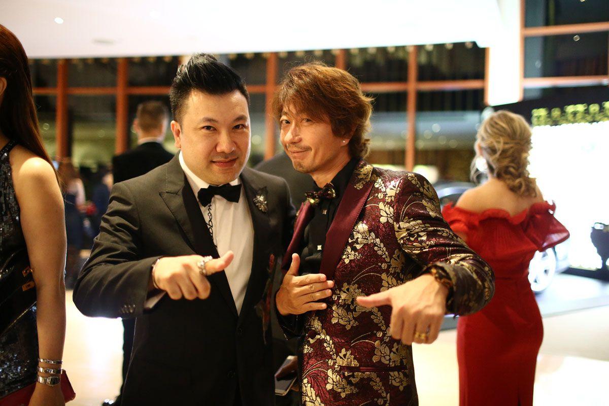 Terence Siew, Kimihisa Abe
