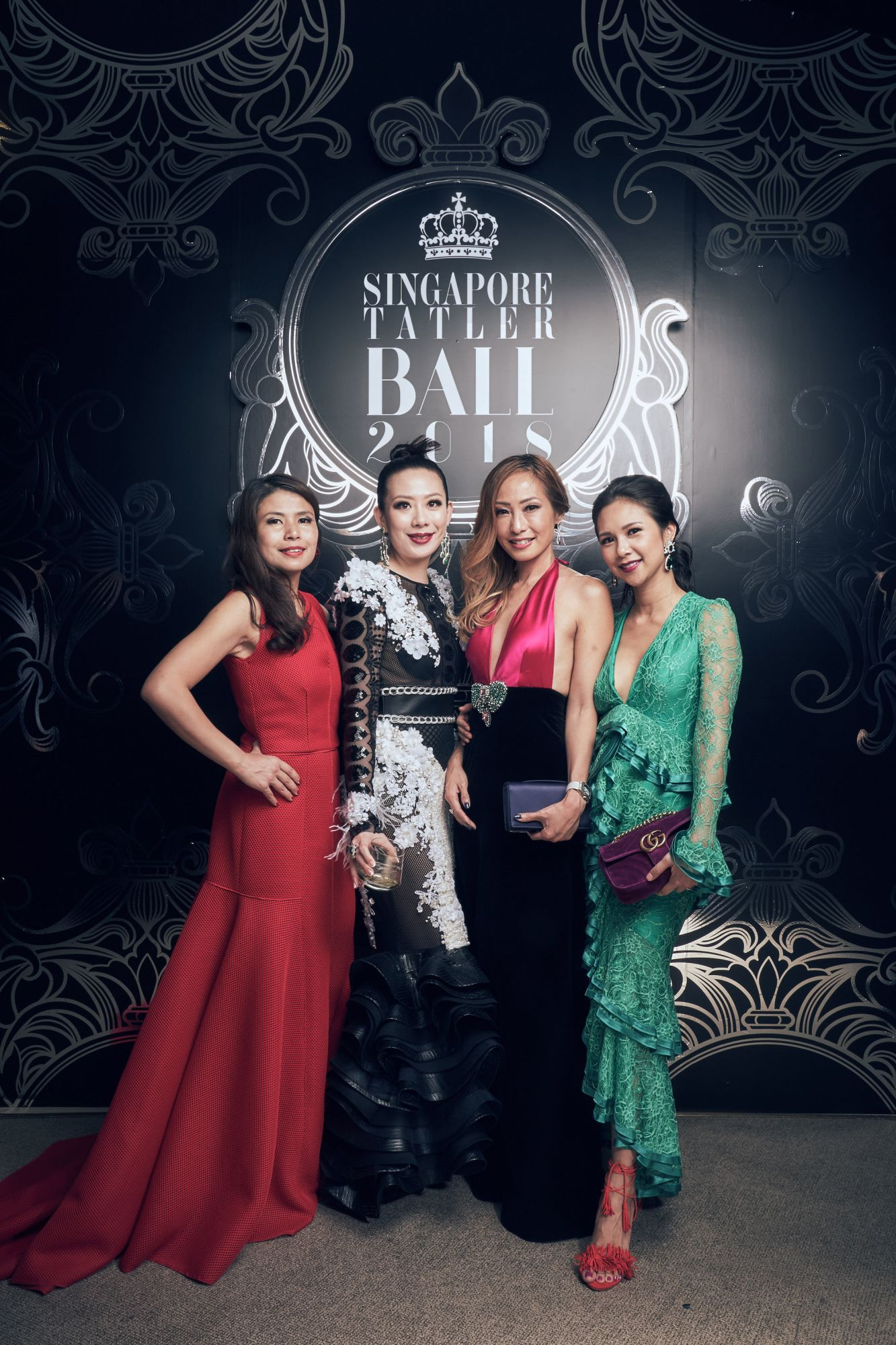 Marilyn Lum, Stephanie Lee, Tan Min-Li, Belinda Huber