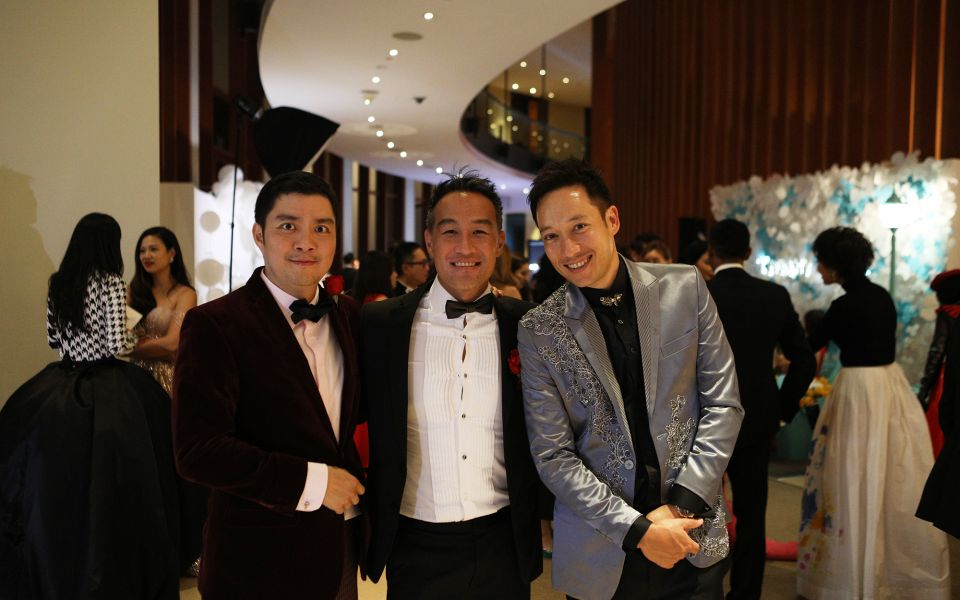 Shaun Tay, John Lim, Andre Huber