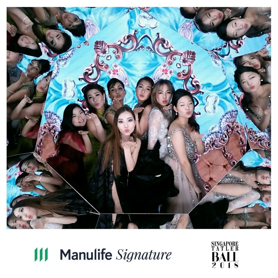 Melissa Peh, Angelina Tan, Nada Jumabhoy, Meaghan See, Chloe Ng, Rebecca Eu, Rachel Wee