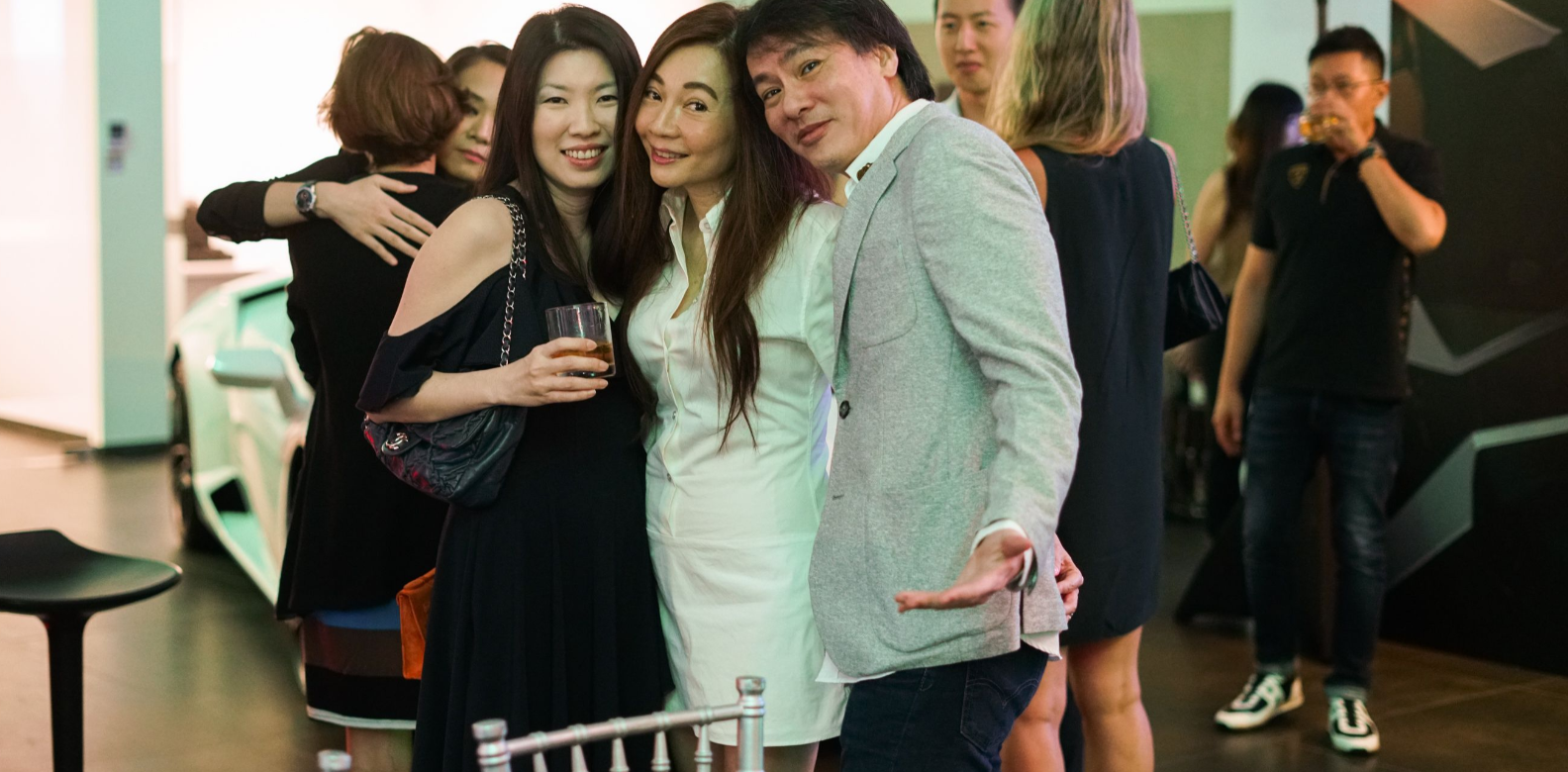 Laura Poh, Stella Mok, Henry Mok