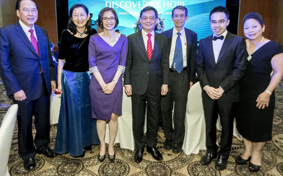 Tony Chew, Ivy Ng, Chang Hwee Nee, Heng Swee Keat, Terrance Chua, Kenneth Chew, Melanie Chew