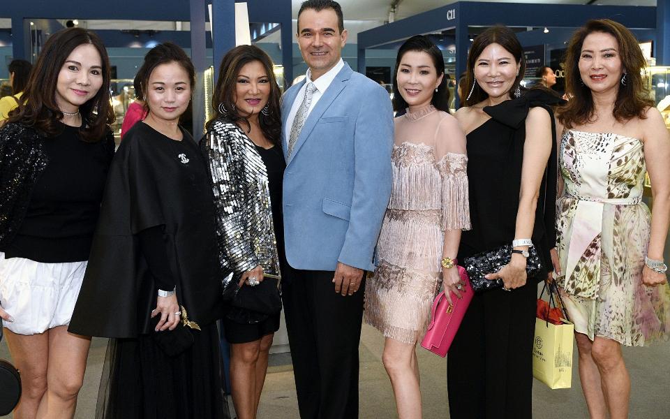 Jacelyn Lai, Tonya Tan, Audrey Mico, Oscar Mico, Elaine Lim-Chan, Jane Heng, Joyce Ang