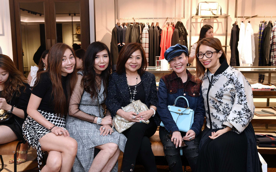 Stella Mok, Sharon Heng, Corinna Chang, Emily Piak, Corinne Ng
