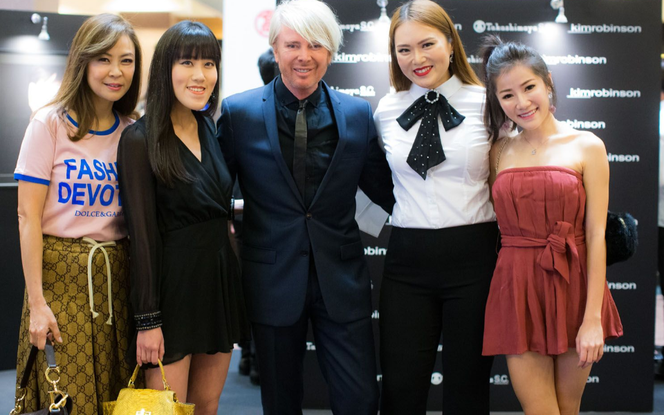 Alicia Thian, Qli Quek, Kim Robinson, Sabrina Ho, Samantha Tay