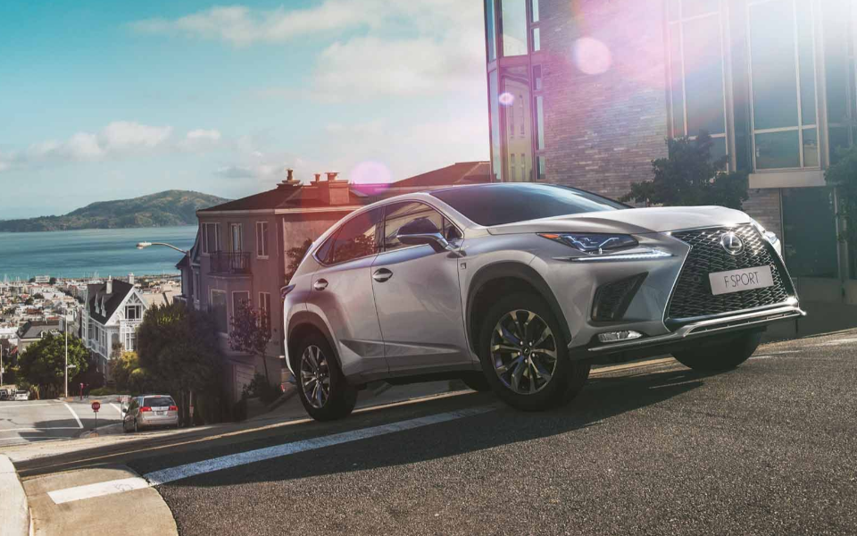 The new Lexus NX300 F Sport