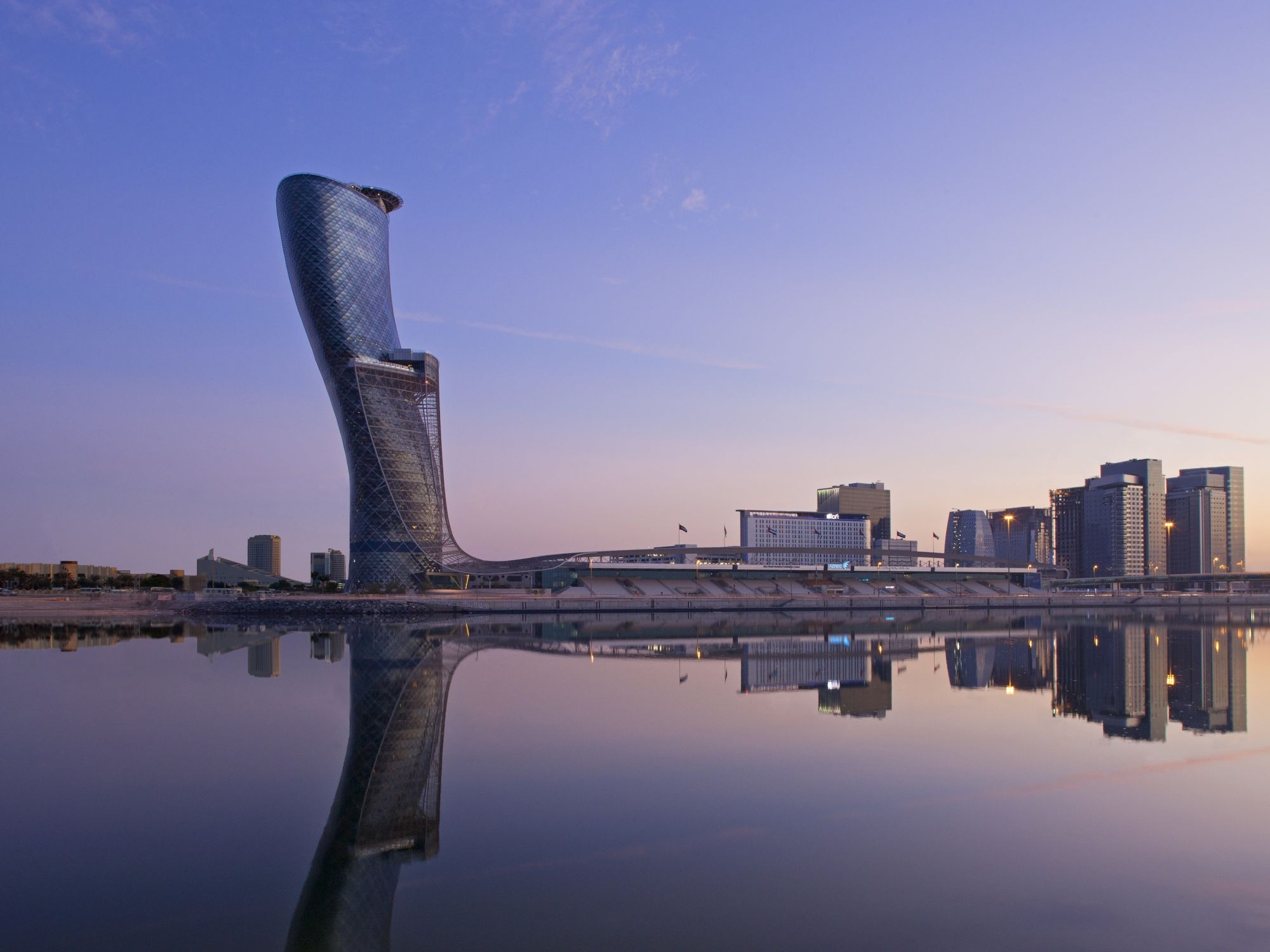 You Can Now Stay At The World's Furthest Leaning Hotel In Abu Dhabi