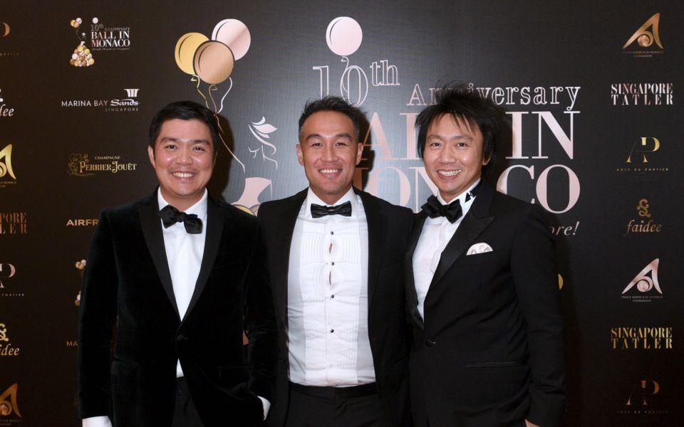 Shaun Tay, John Lim, Samuel Tan