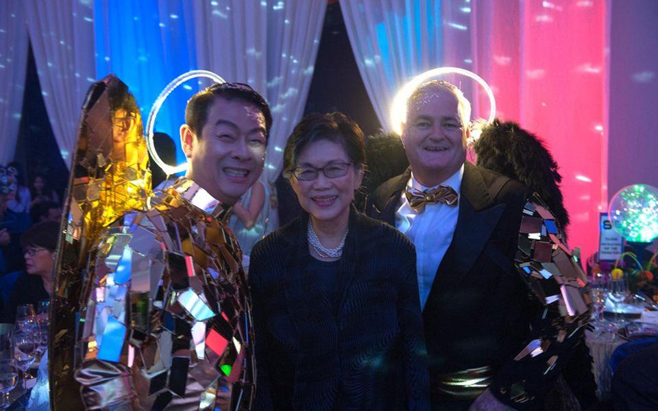 Ivan Heng, Chan Heng Chee, Tony Trickett