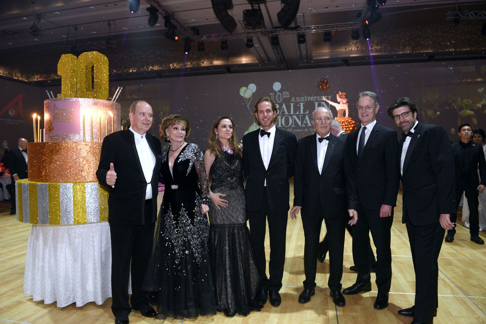 Inside The Spectacular 10th Anniversary Of The Ball In Monaco