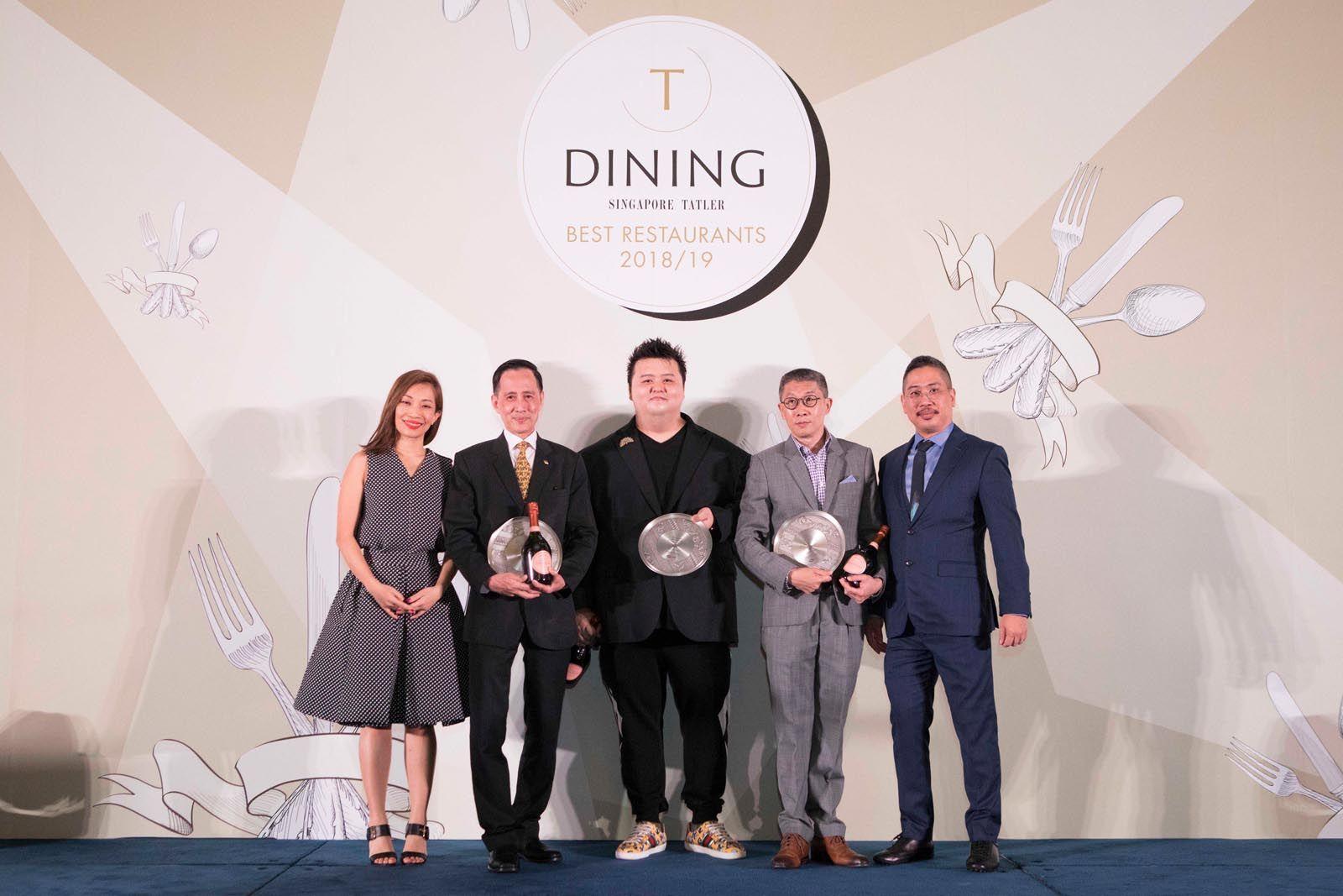 Corinne Ng, Sam Ng, Jason Tan, Kelvin Tay, Don Mendoza