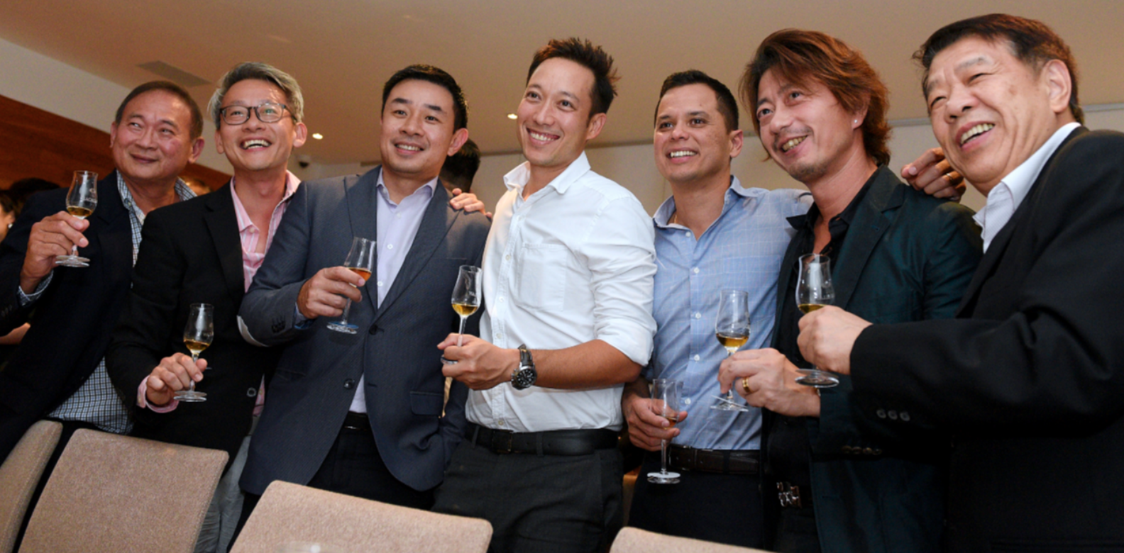Richard Low, Henry The, Choo Ken-Yi, Andre Huber, Andre Cherbonnier, Kimihisa Abe, Tan Kong King