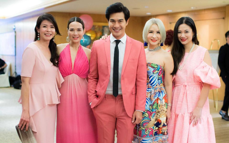 Winnie Chan, Andrea de Cruz, Pierre Png, Celina Lin, Tjin Lee