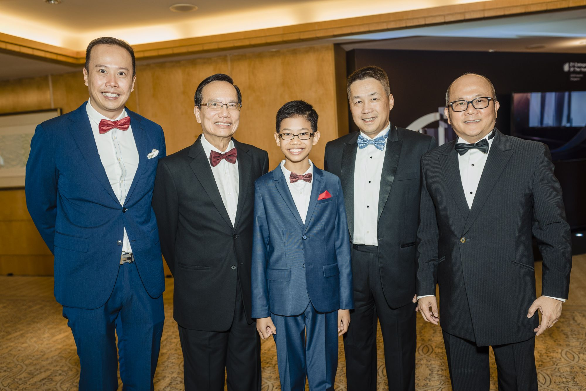 Mark Lee, Patrick Lee, Ethan Lee, Max Loh, Ron Sim
