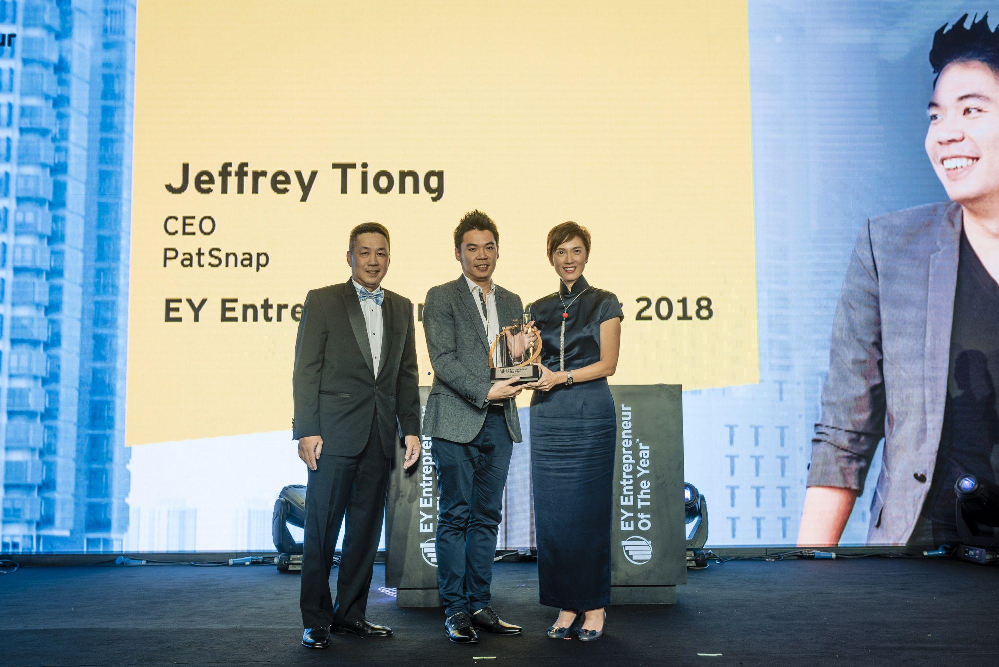 Max Loh, Jeffrey Tiong, Josephine Teo