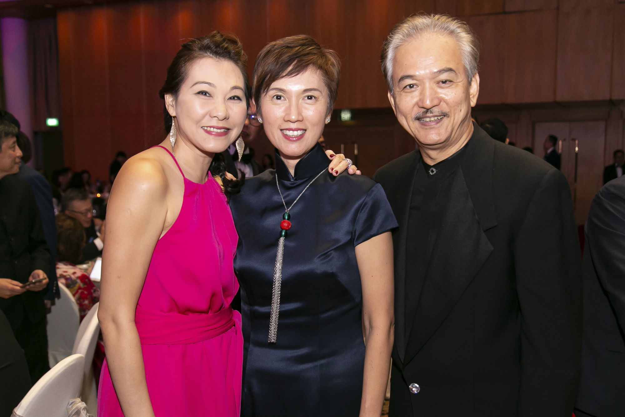 Hannah Yap, Josephine Teo, Robert Yap