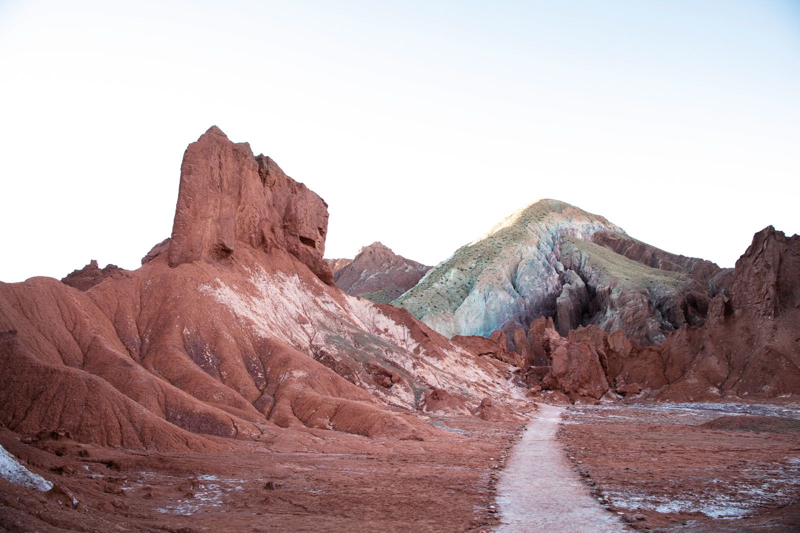 The intriguing colours of this mountain is a sight to behold at the Valle de Arcoiris, also known as Rainbow Valley