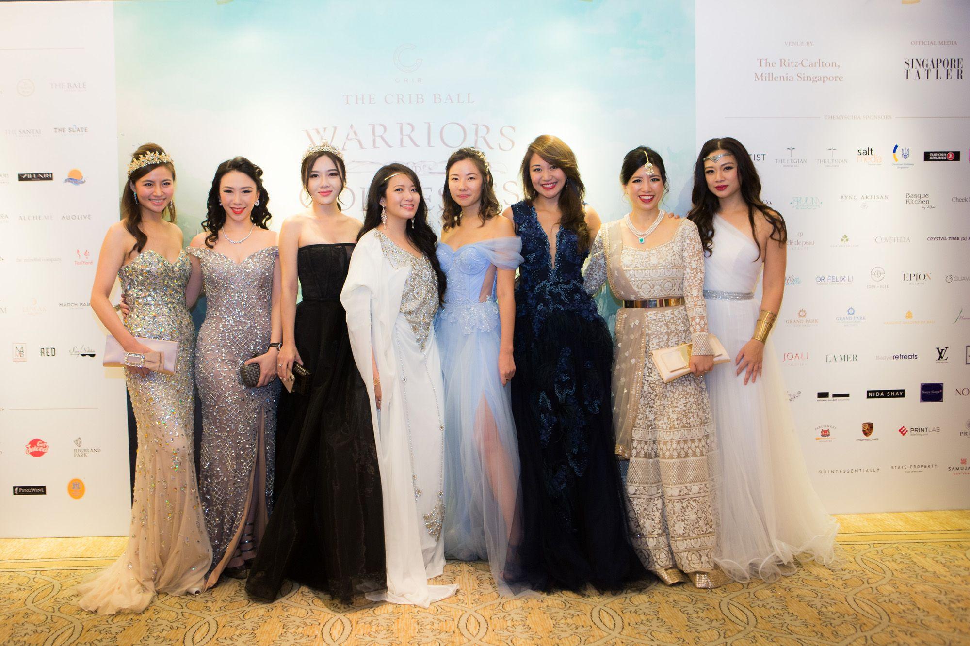 Cheryl Wee, Loh May-Han, Ang Jin Yuan, Elaine Kim, Melissa Lim, Anna Vanessa Haotanto, Leanne Robers, Tjin Lee