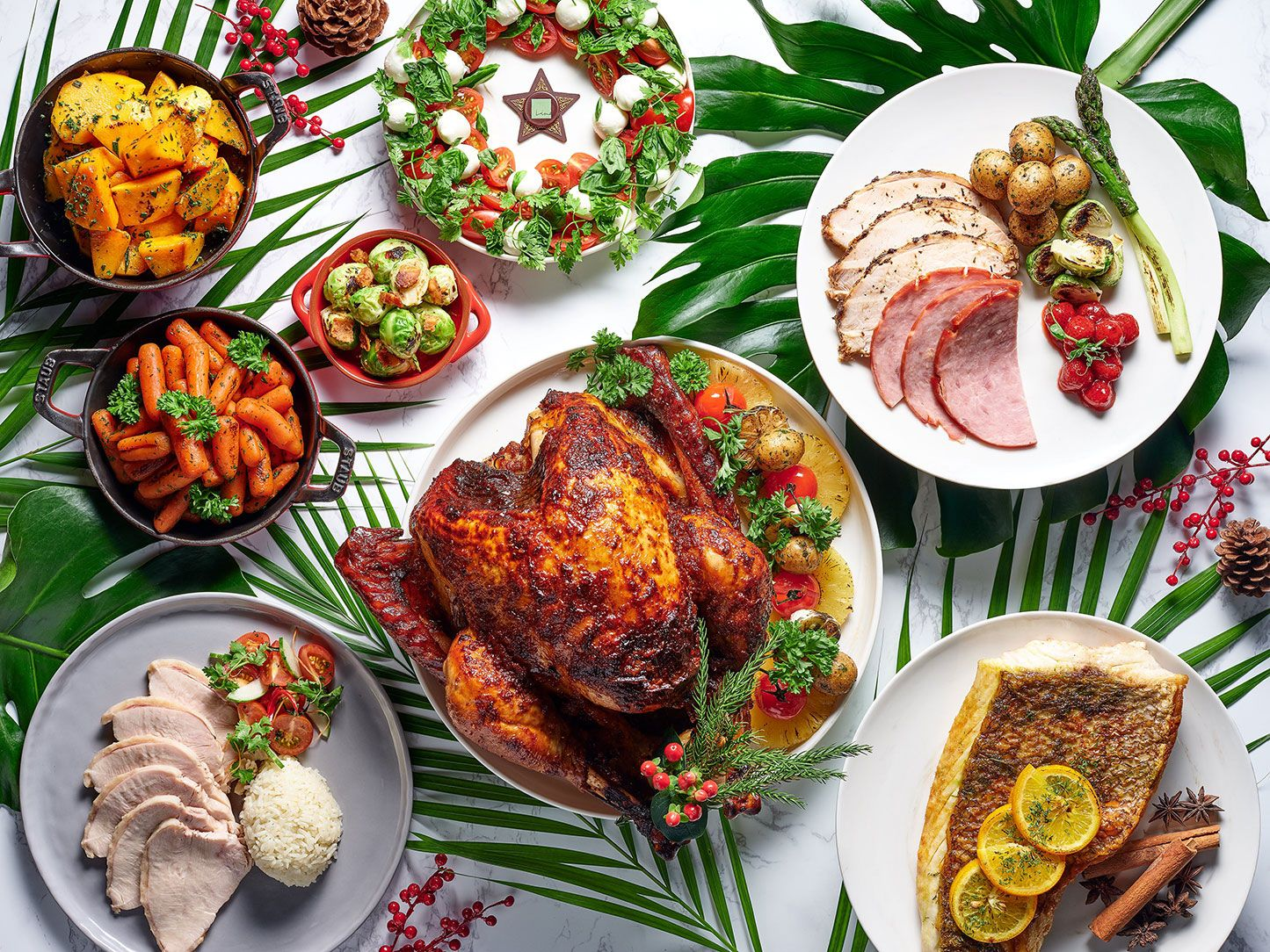 5 Christmas Buffets To Try
