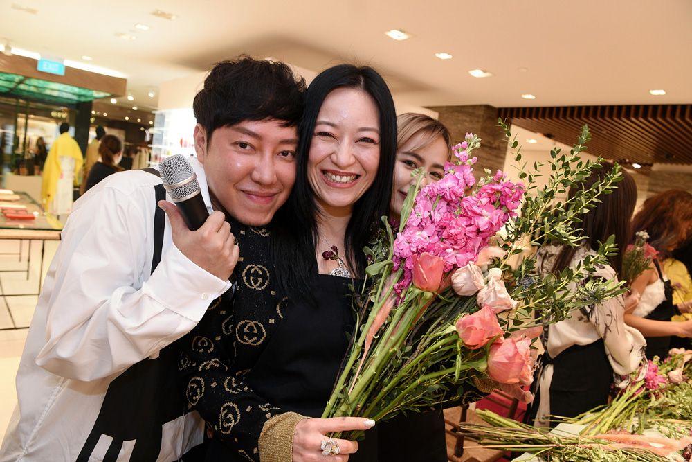 Desmond Lim, Nina Ng, Chloe Ng
