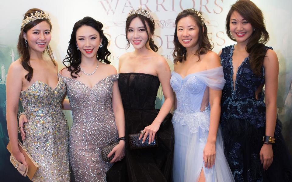 Cheryl Wee, Loh May-Han, Ang Jin Yuan, Melissa Lim, Anna Vanessa Haotanto