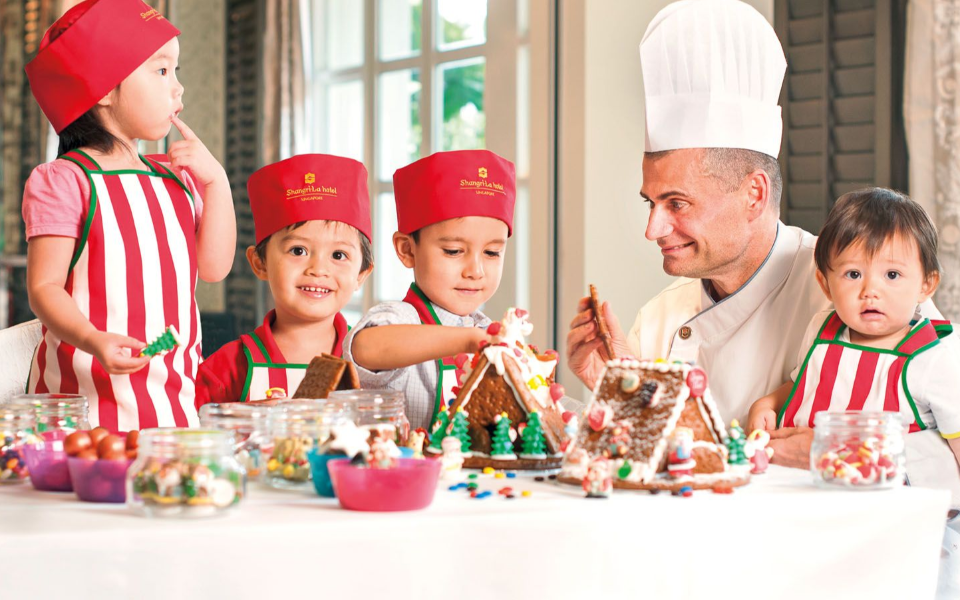 This festive season, Shangri-La Hotel, Singapore has lined up activities for everyone, from 8 to 80