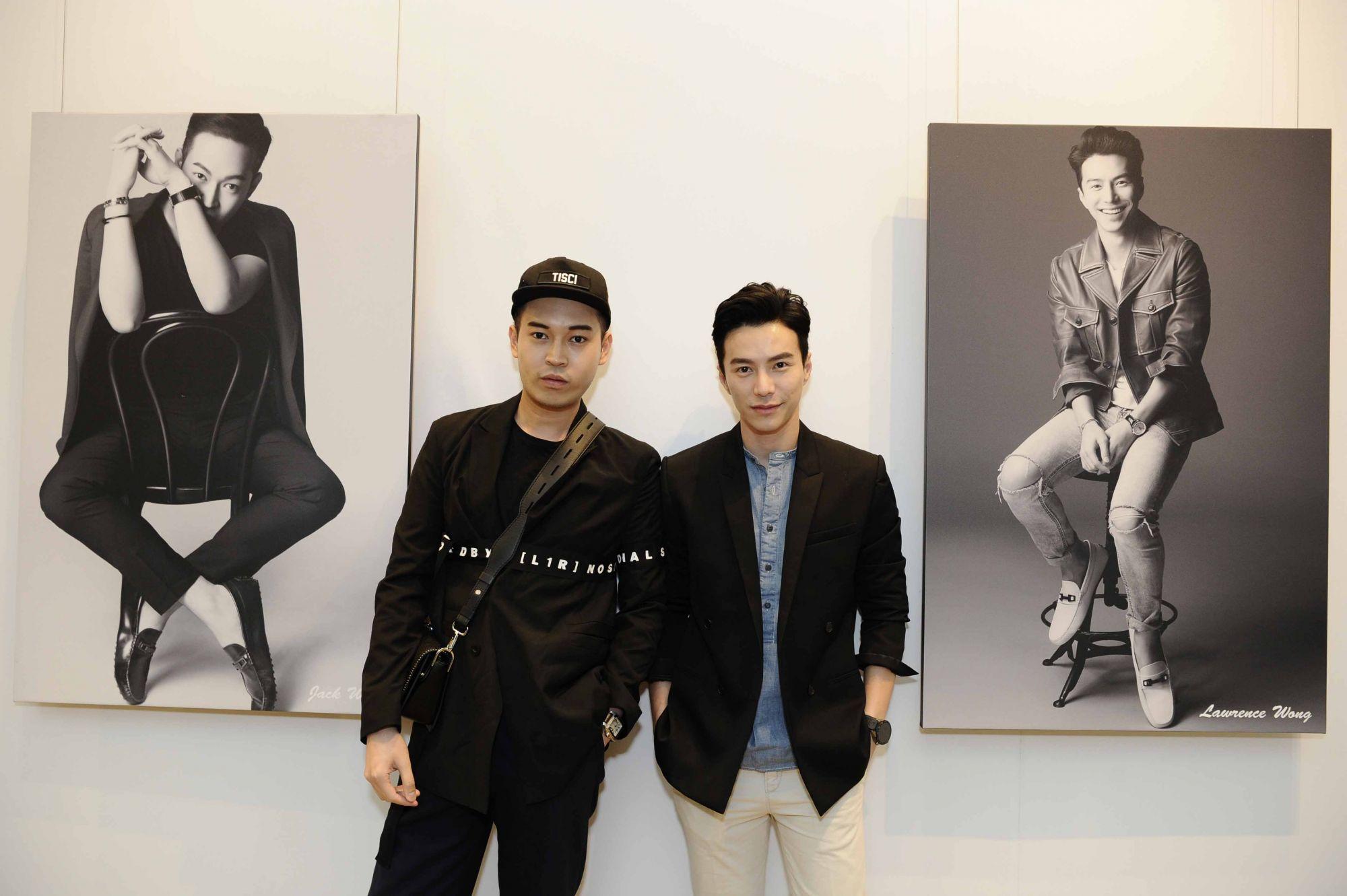 Jack Wang, Lawrence Wong