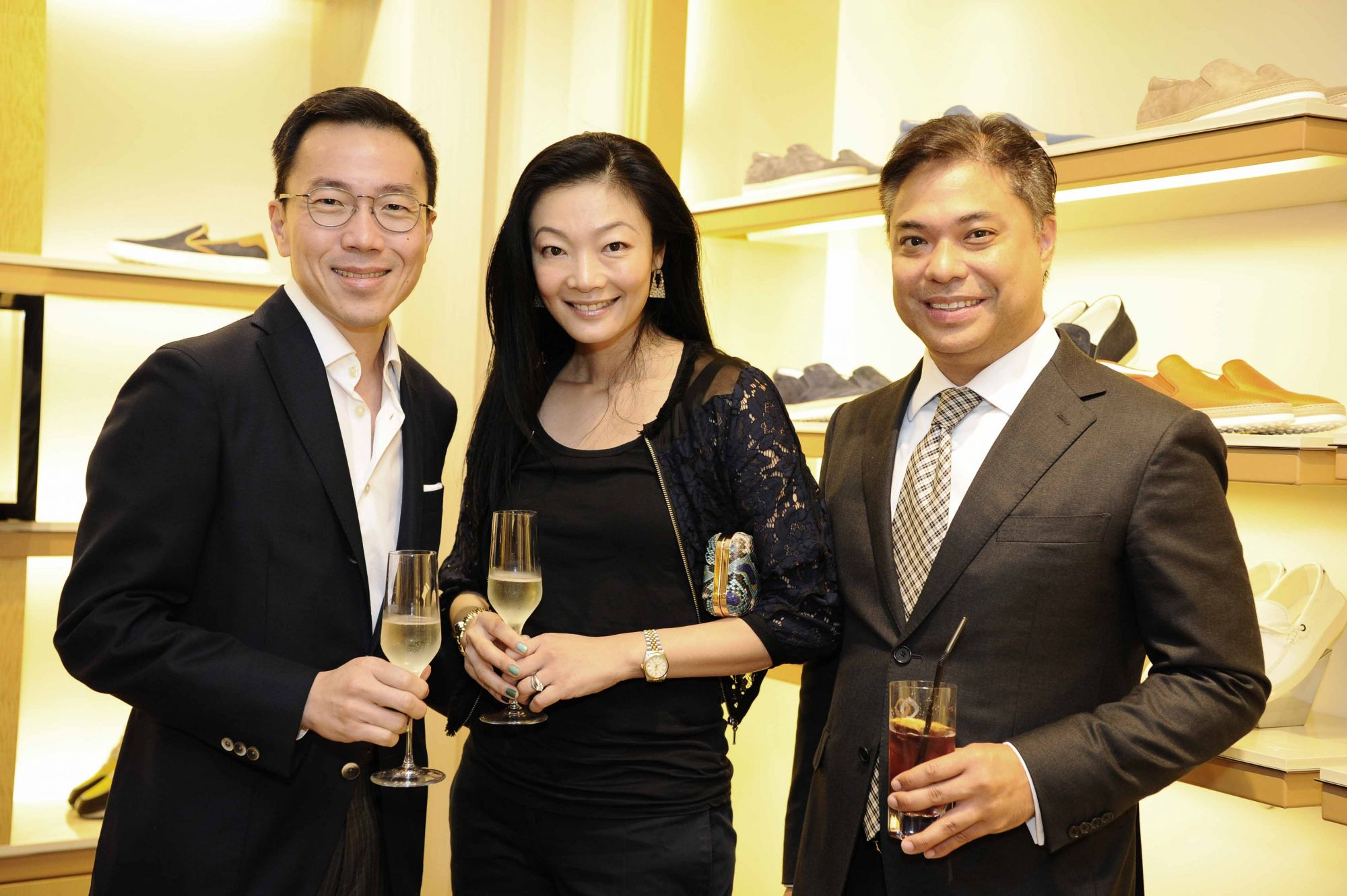 (From left) Beh Swan Gin, Maisy Koh