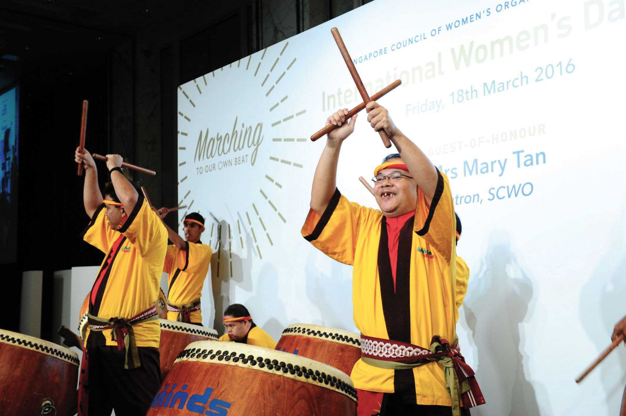 Minds Taiko Drum troupe