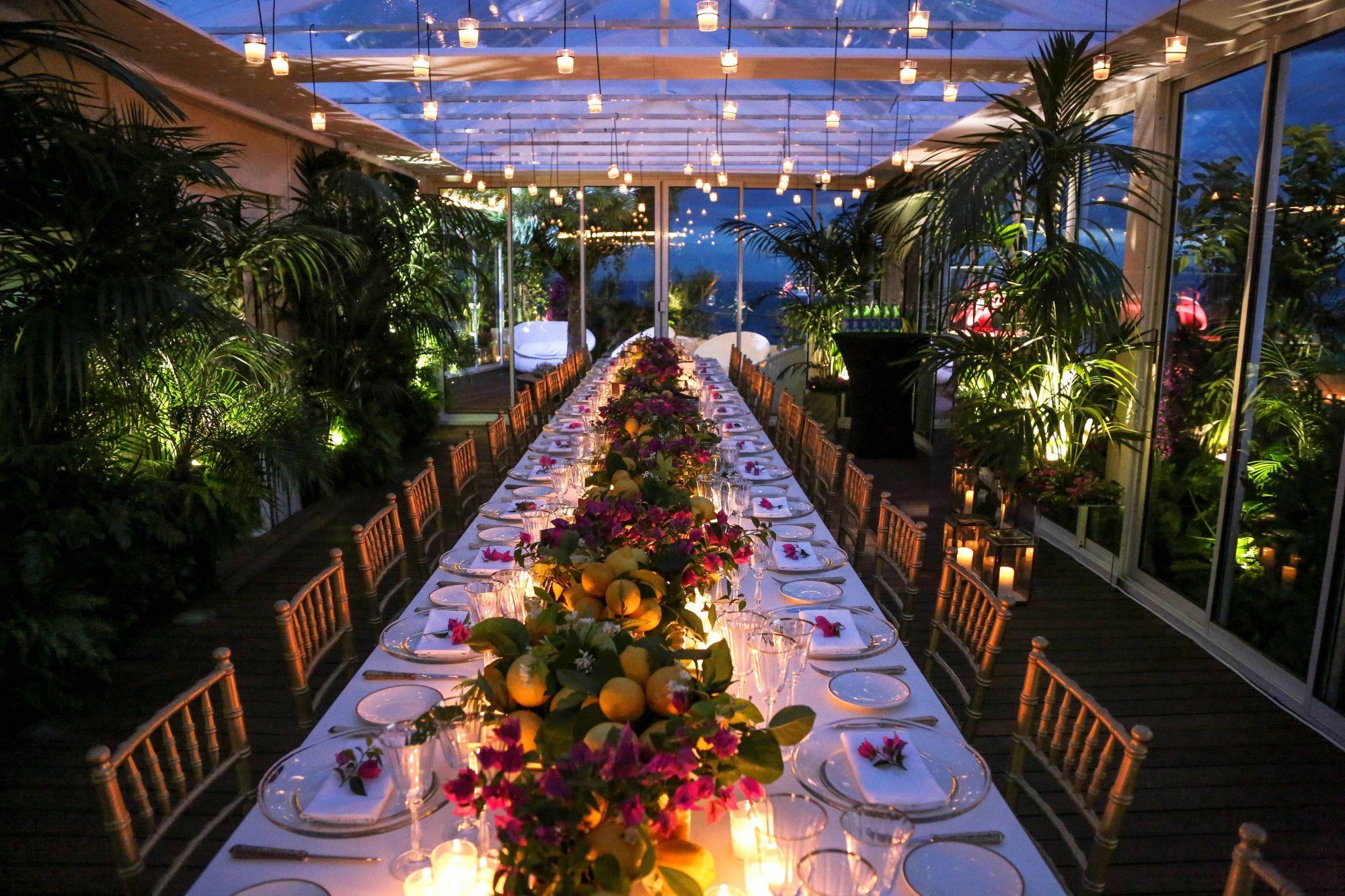Chopard Opening Dinner At Cannes International Film Festival 2016 Martinez Hotel Singapore