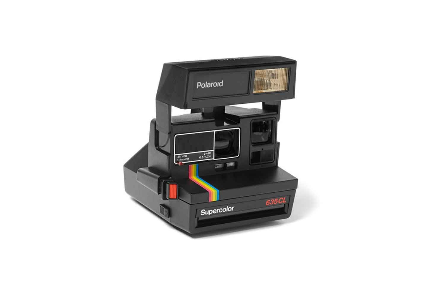 50th birthday presents · Impossible Project Polaroid camera, available at mrporter.com