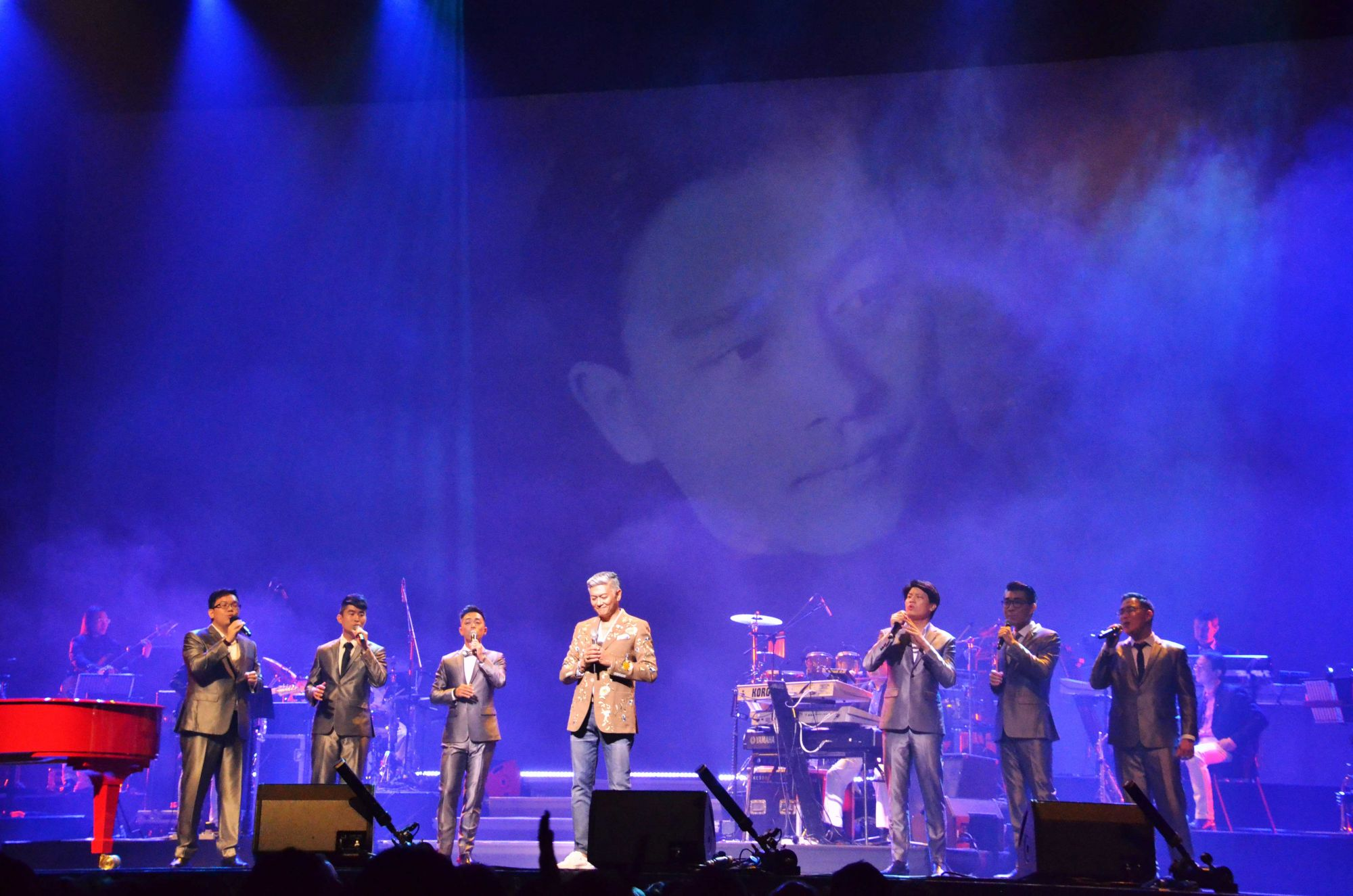 Dick Lee, a capella group After Six