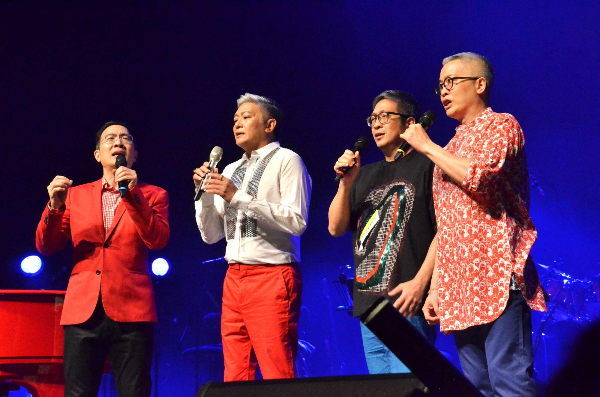 Peter Lee, Dick Lee, Andrew Lee, John Lee
