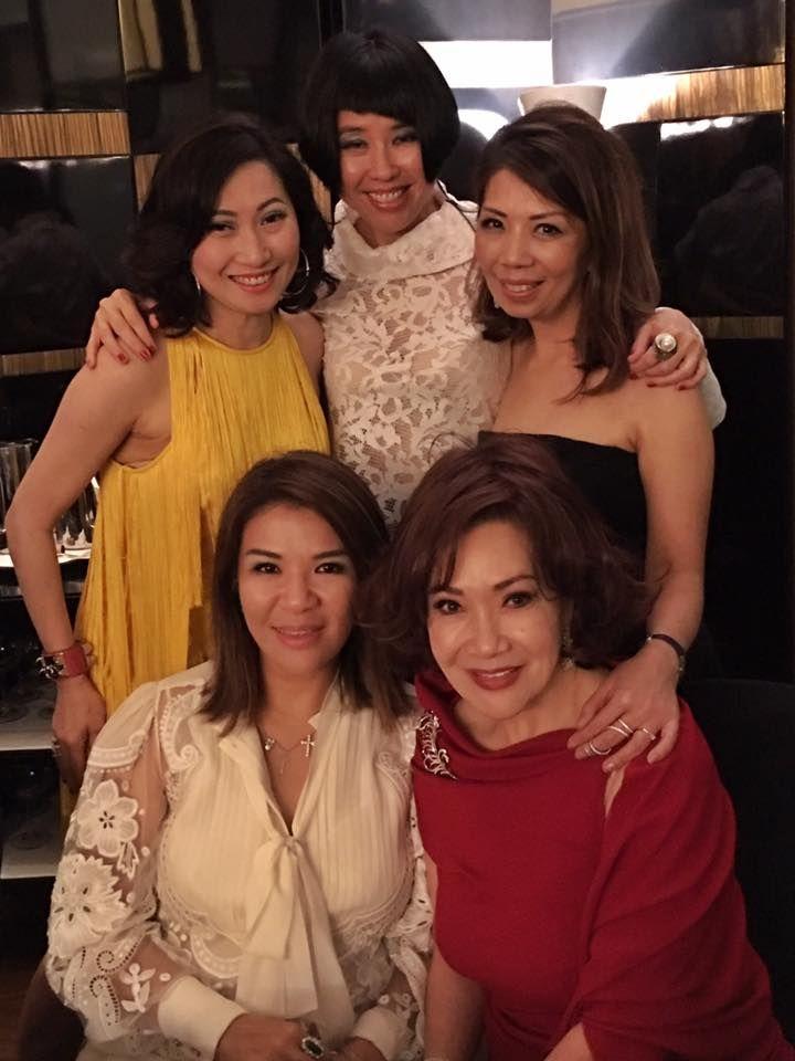 Tan Khar Nai, Karen Soh, Rosalynn Tay, Kitch Lum, Lotus Soh. Photo: Rosalynn Tay/Facebook.