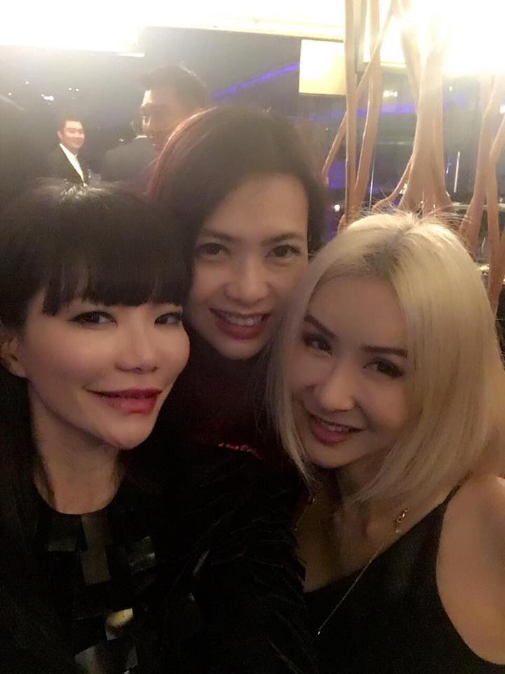 Georgia Lee, Ho Ching Lin, Celina Lin. Photo: Celina Lin/Facebook.