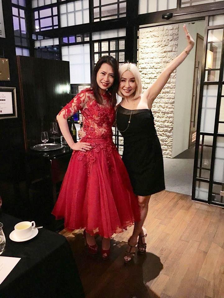 Ho Ching Lin, Celina Lin. Photo: Celina Lin/Facebook.