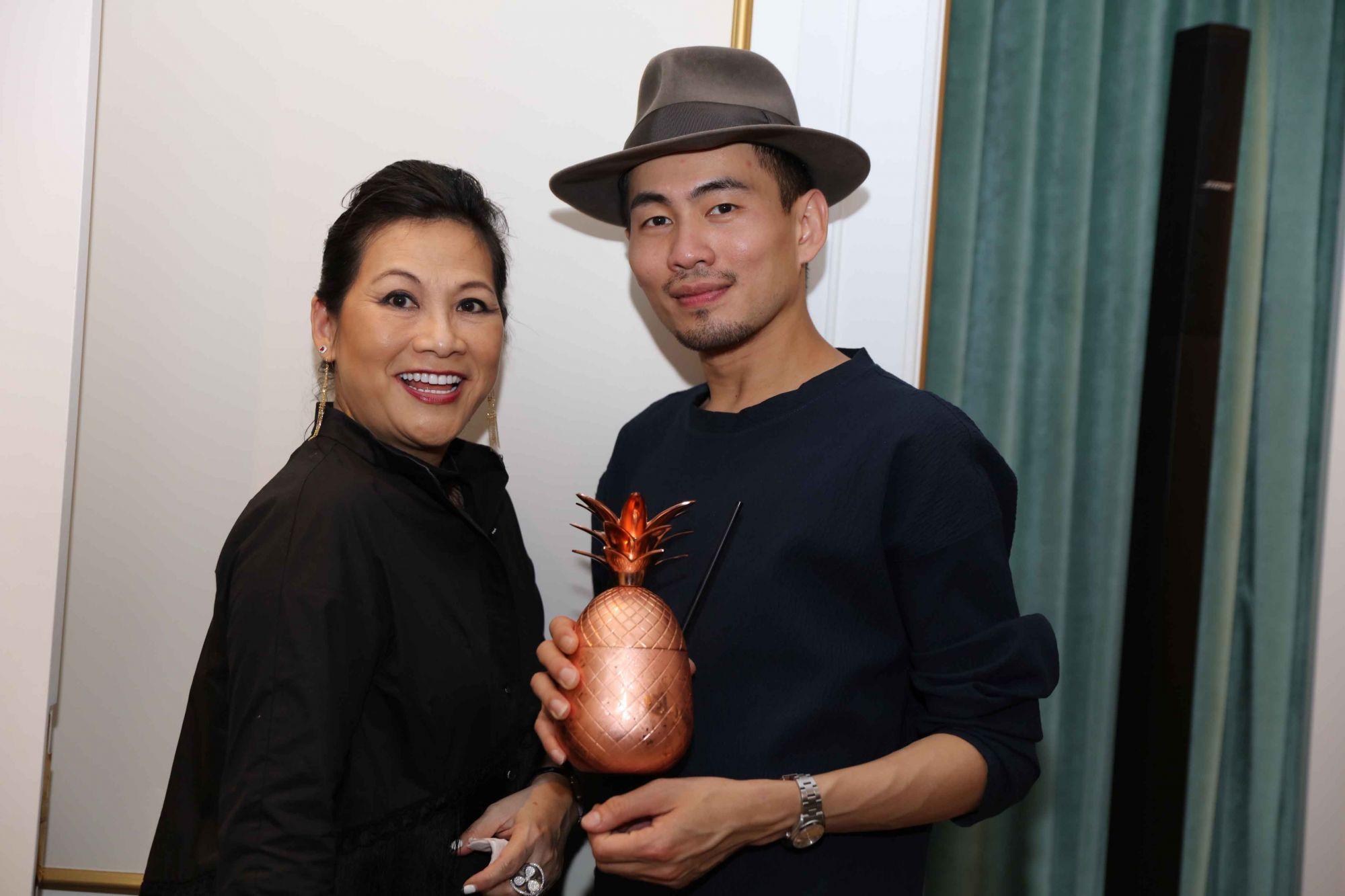 Pauline Chan, Han Chong