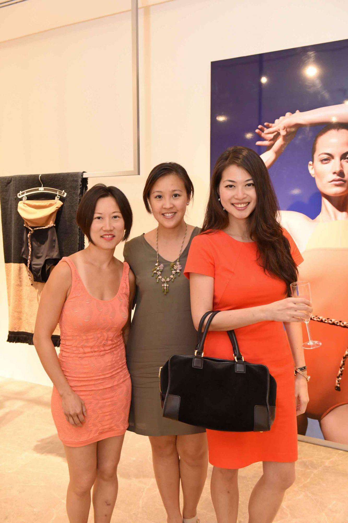Melody Chong, Vanessa Liok, Liu Shuyi
